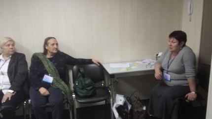 Печникова Е.Ю.(справа), председатель модальности Перинатальная психология и Битехтина Л.Д., председатель модальности Религиозно-ориентированная психология