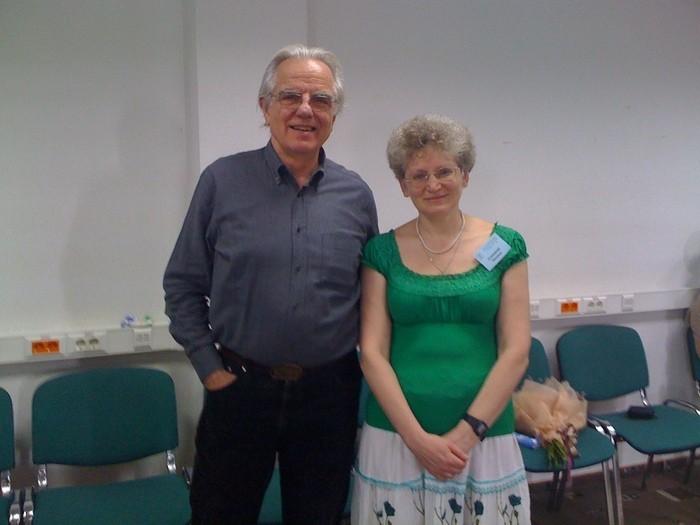 С Хантором Бомоном (Мастер-курс, Москва 09-2011)