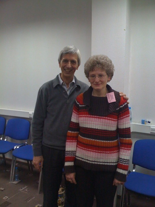С Якобом Шнайдером (председатель DGfS,ФРГ) 2009