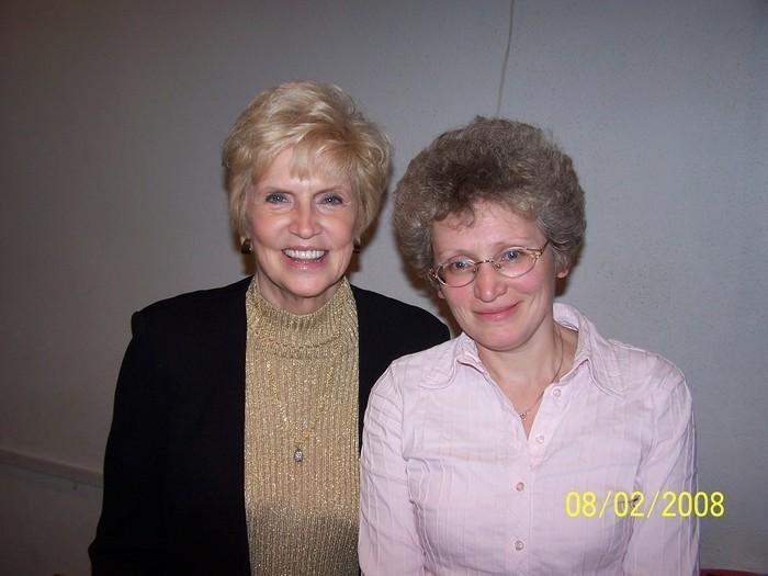 С Мерилин Мюррей 02.2008 Москва