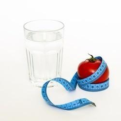 Символы похудения - Стакан яблоко и сантиметр