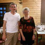 С коллегой Алексеем Джурук