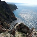 Скалы на Озере Байкал