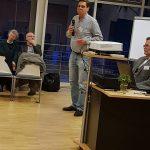 Конференция DGfS и INFOSYON расстановщиков в Германии 2018 Председатель мировой Ассоциации орграсстановщиков INFOSYON Новый председатель DGfS Christofer Bodirsky