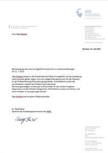 Сертификация в IIS Berlin